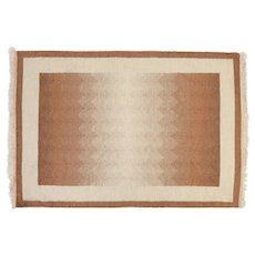 Scandinavian mid-century modern rug. 190 cm x 136 cm (75 x 53.5 in)