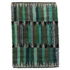 Scandinavian mid-century modern rug by Marianne Richter.