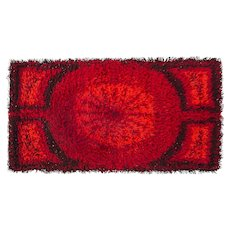 Scandinavian 20th century modern rug.