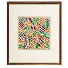 """Untitled"" by Jasper Johns"