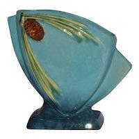 "Vintage Roseville Pinecone Pine Cone 272-6"" Pre 1950 Vase Wincraft"