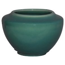 1945 Rookwood Gloss Teal Jardinaire Pot