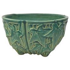 Vintage McCoy Green Ivy Bowl