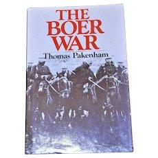 Boer War Thomas Pakenham HB DJ 1979 1st American Edition VG