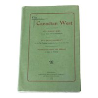 Canadian West Abbe G Dugas Soft 1st Ed 1905