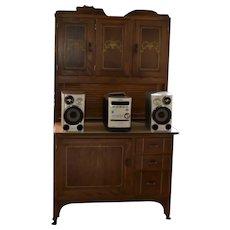 Sellers Hoosier Style Cabinet Original Finish