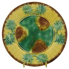 Griffin Hill & Smith Etruscan Bamboo Majolica Plate