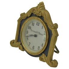Brown Bilt Shoes Clock