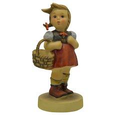 Hummel Goebel TMK5 Little Shopper Girl #96