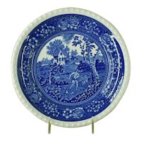 "Villeroy Boch Rusticana Blue & White Dinner Plate 10.25"""