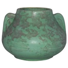Brush McCoy Fawn Vase Green Matte American
