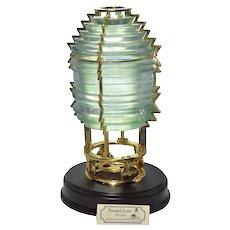 "Harbour Lights Lighthouses #631 5th Order ""Fresnel Lens"" year 2000"