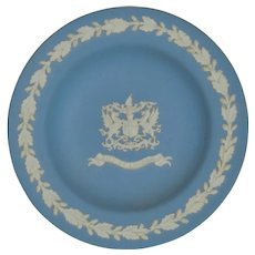 Wedgwood Jasperware City of London Plate