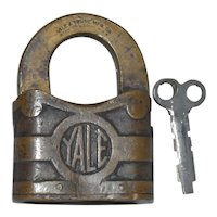 "Yale 4"" Padlock Key Works YT"