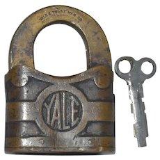 """Yale 4"""" Padlock Key Works YT"""