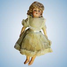 "Vintage Heinrich Handwerck Simon and Halbig 18"" bisque doll"