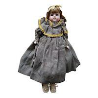 "Vintage German bisque doll 16"""