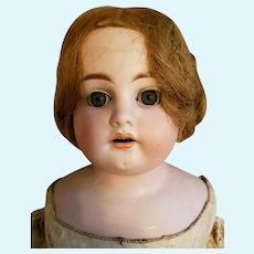 """Heinrich Handwerck bisque 25"""" vintage 19th Century doll"""