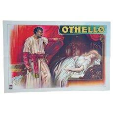'Othello' - Vintage Theatre Poster