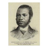 Surgeon -Major J.A.B. Horton - Portrait