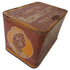 'Brown Beauty Tobacco Tin'. 1930's by E&W Anstie Ltd Devizes, Somerset, England