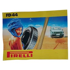 Pirelli FD-44 Rubber Car Tyres.