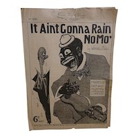 It Ain't Gonna Rain No Mo' - Song Sheet Wendell Hall