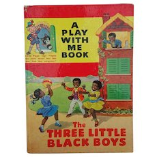 Vintage The Three little Black Boys - a Play With Me Book, devised by DAVID WHITE