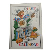 1954 Minstrel Diary Calendar (32 pages).