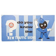 Robertson's Golly 'New Traffic Signs' - Booklet