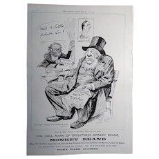 Victorian Monkey Brand & Pears Soap Advert