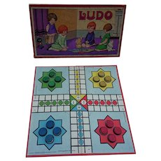 Ludo Children's Game - Vintage Spear's Box Game (1922).
