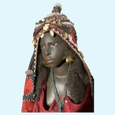 African wax doll by Brigitte Deval 00AK