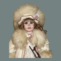 Snow princess by Pat Thompson limited edition of 150