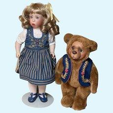 Wendy Lawton Goldilocks and Baby Bear MIB
