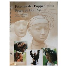 Maja Bill Buchwalder Hardcover Facets of Doll Art book