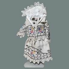 Hanky Couture 16 inch doll dress and hooded jacket for Kish Four Seasons