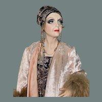 """Salome by Crees & Coe, Angela Lansbury, wax 28"""""""