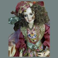 Gypsy Girl OOAK by Paulette Aprile 1991