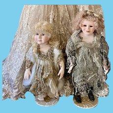 Children by Pat Thompson 2 Dolls