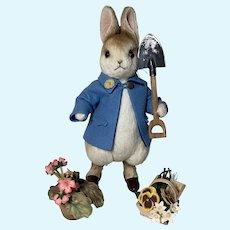 Centennial Peter rabbit by R John Wright MIB