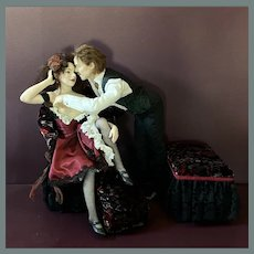 Romantic Couple by Rebecca Major OOAK 1997