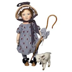Little Bo Peep by R John Wright number 91 of 100