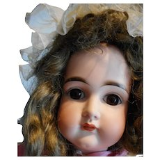 """Kestner Antique Pouty Closed Mouth Doll 23.5"""" Late  1890s"""