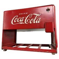Original Kay Coca Cola Coke 1939 Salesman Sample Miniature Cooler Ice Chest