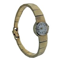 Antique Elgin 1920's Art Deco Solid 14K Gold 19 Jewels Ladies Wrist Watch