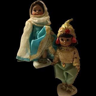 "Madame Alexander 8"" International Dolls - Group 2"