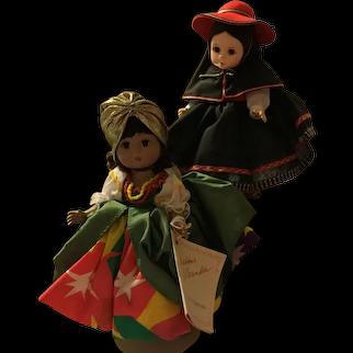 "Madame Alexander 8"" International Dolls Group 3"