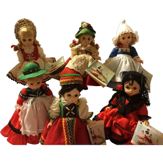 "Madame Alexander 8"" International Dolls - Group 1"