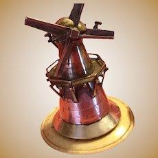 Miniature Sterling Silver Windmill